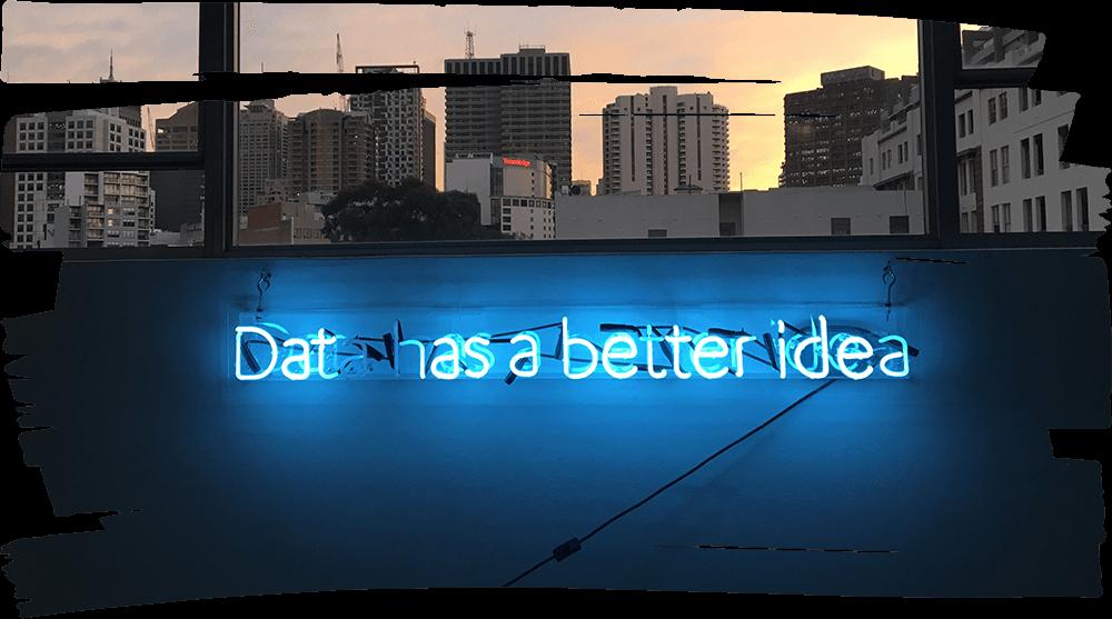 Data Analyse Marketing Neon Uitzicht