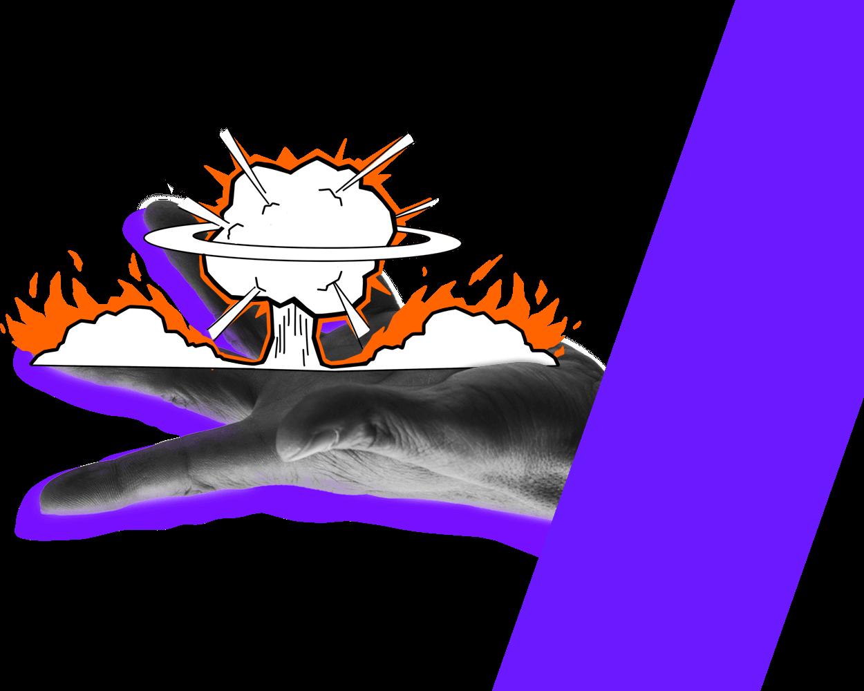 Explode Hand